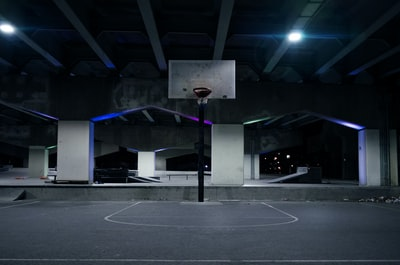 portable basketball hoop basketball court teams background