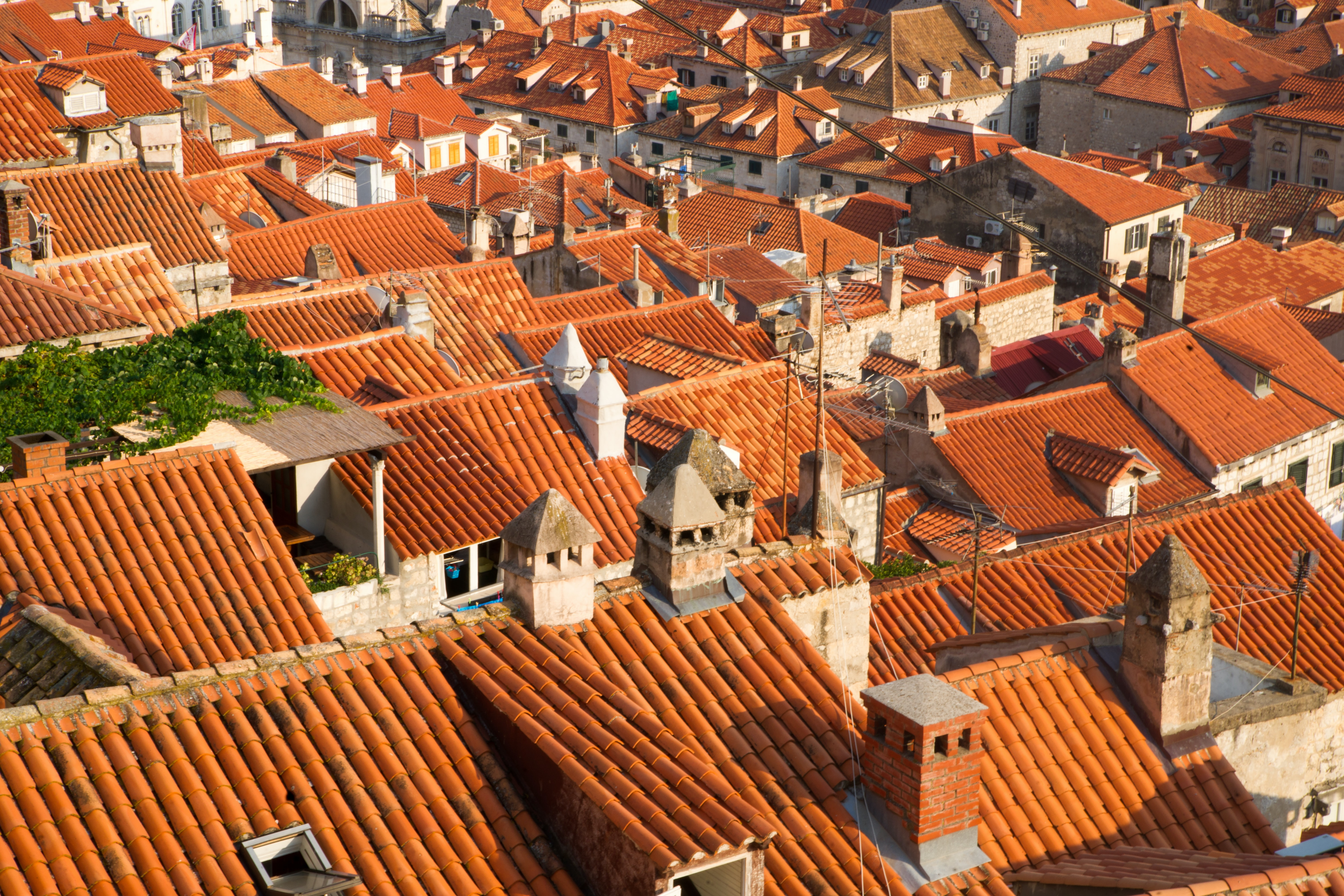 aerial photography of houses during daytime