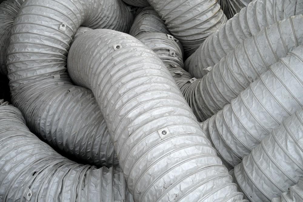 gray and black fabric sofa