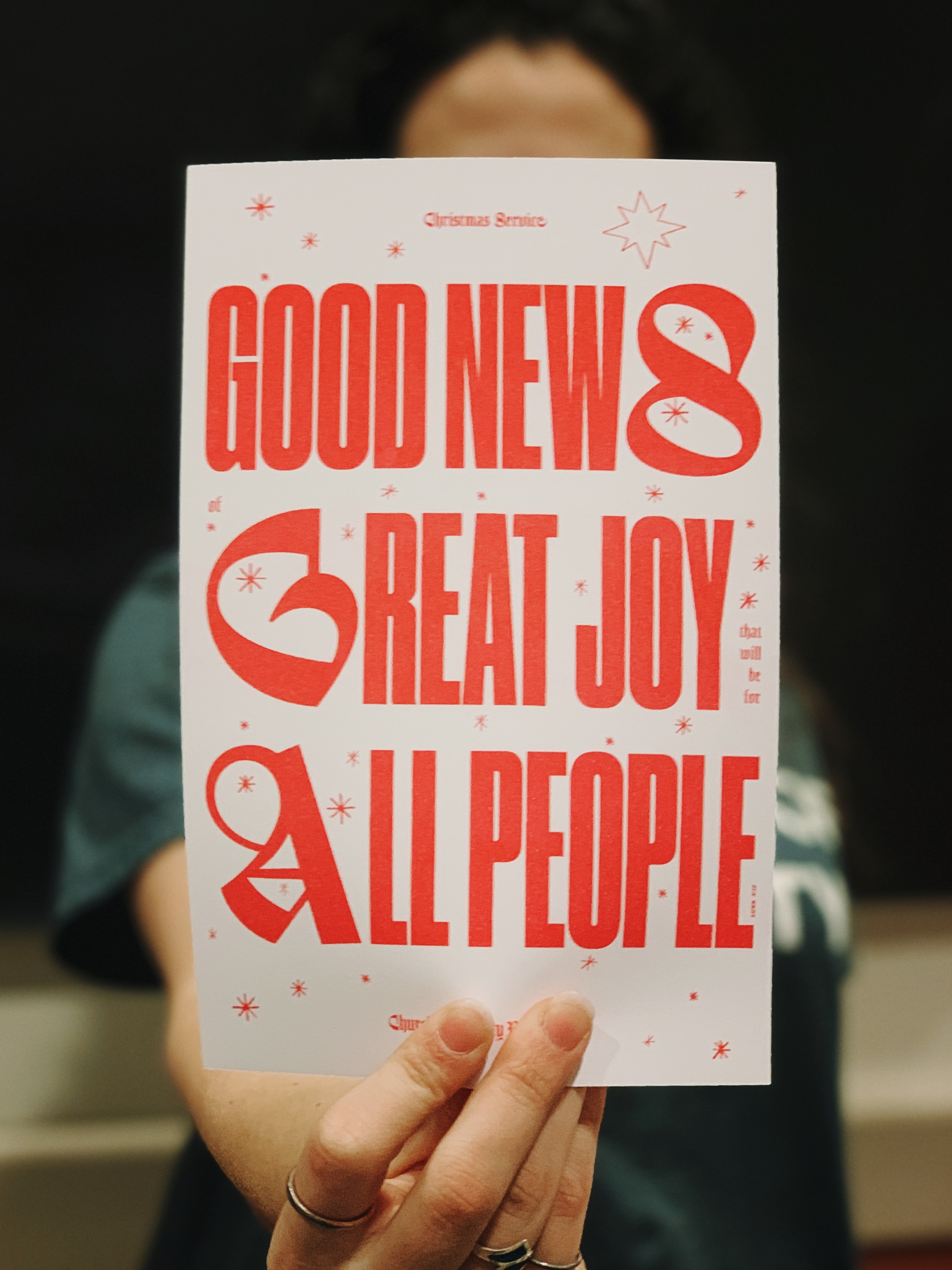 Good News Great Joy All People poster