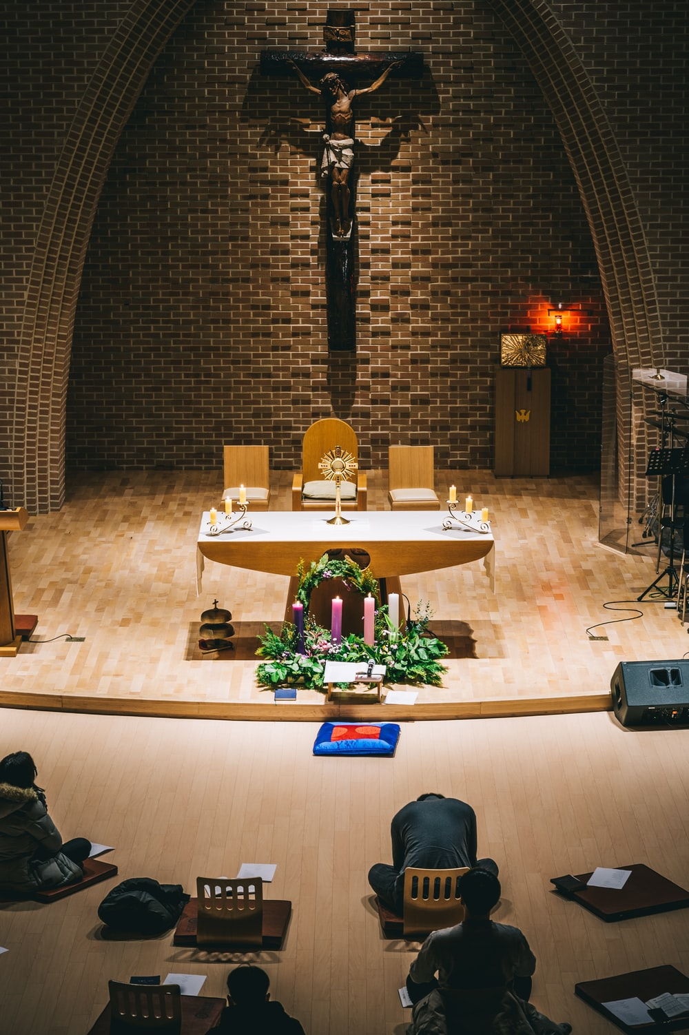church and altar photo