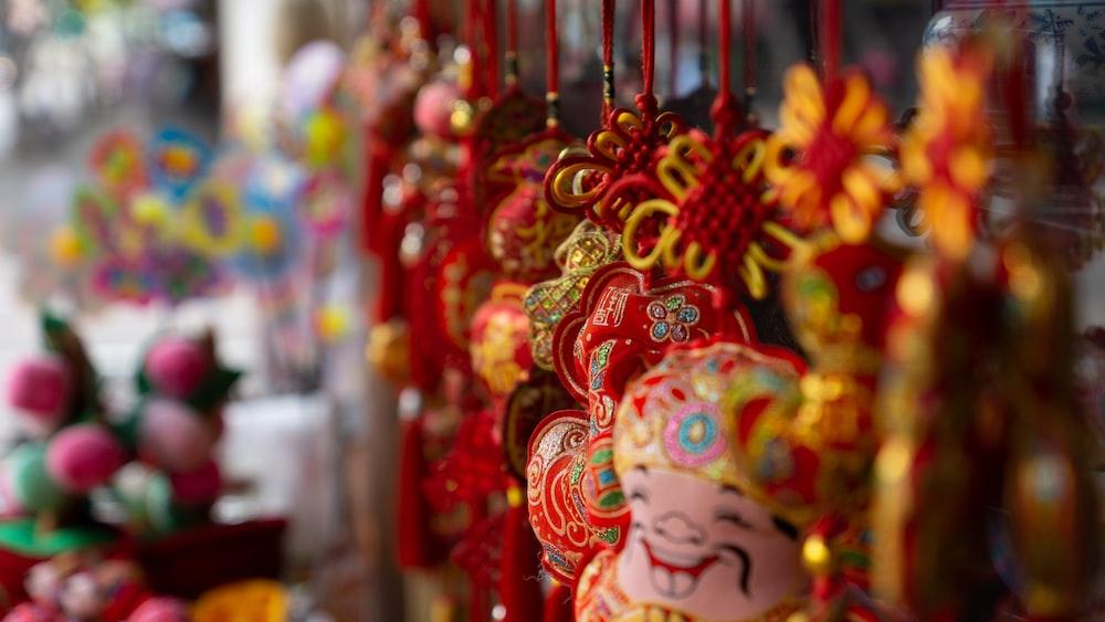 chinese decor lot