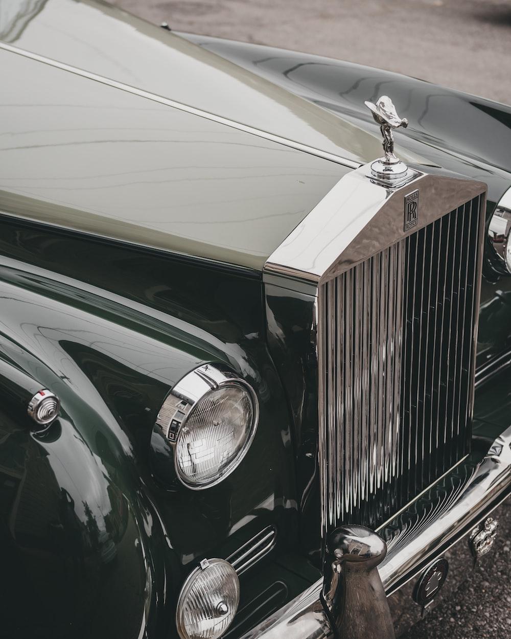 black Rolls-Royce vehicle