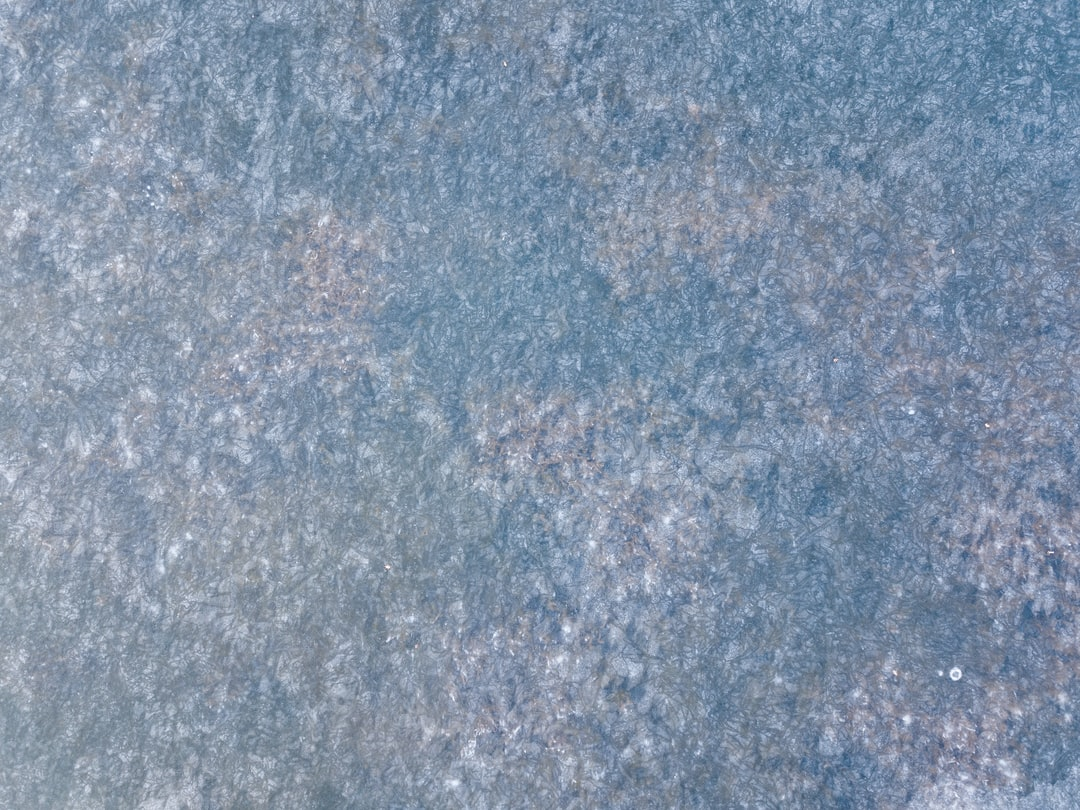 Winter's cold creates lots of interesting textures. This is an aerial shot of a frozen lake. I thought I'd share them for use as elements in a design or maybe a background.