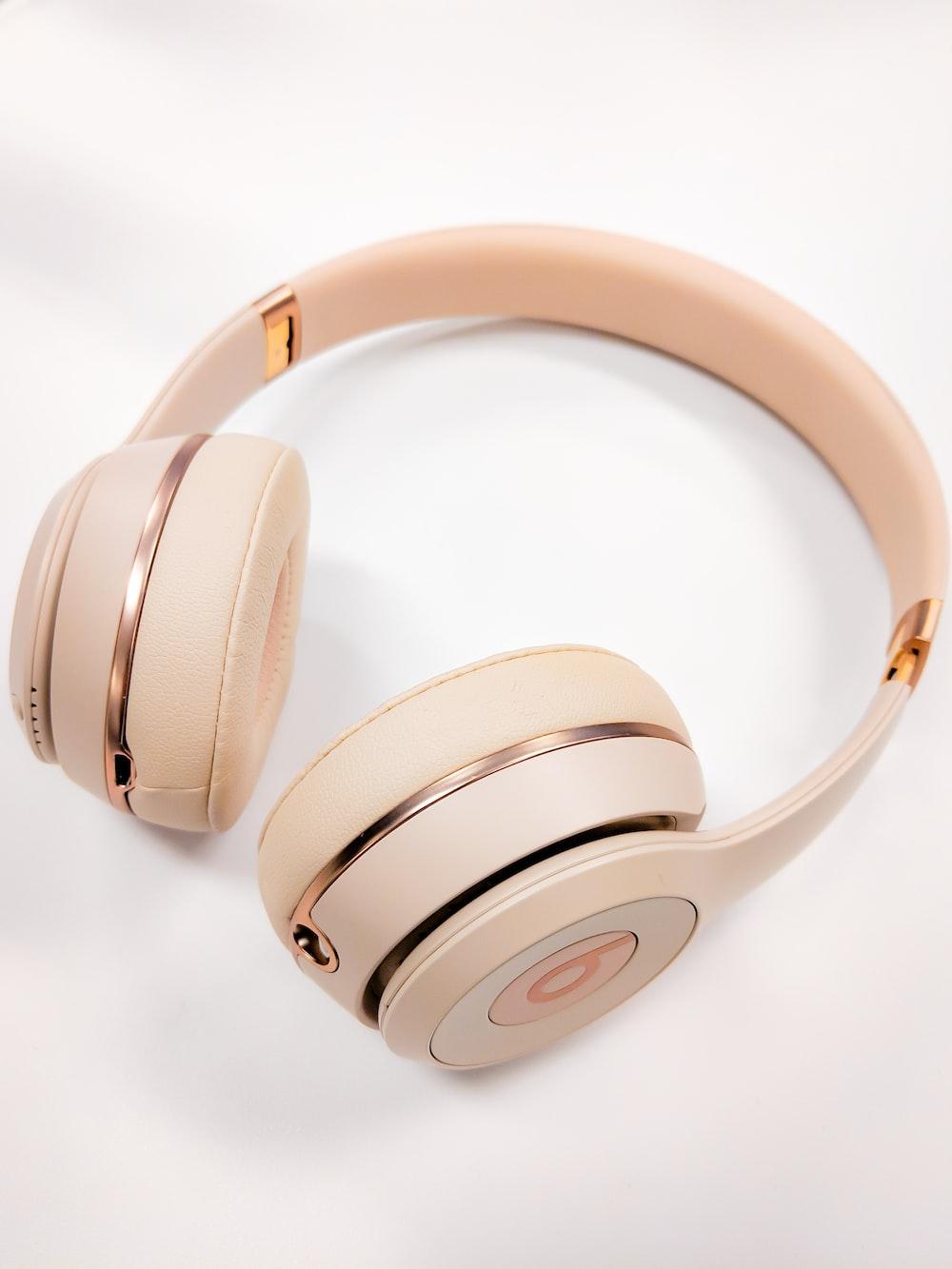 Gold Beats Wireless Headphones Photo Free Headphones Image On Unsplash