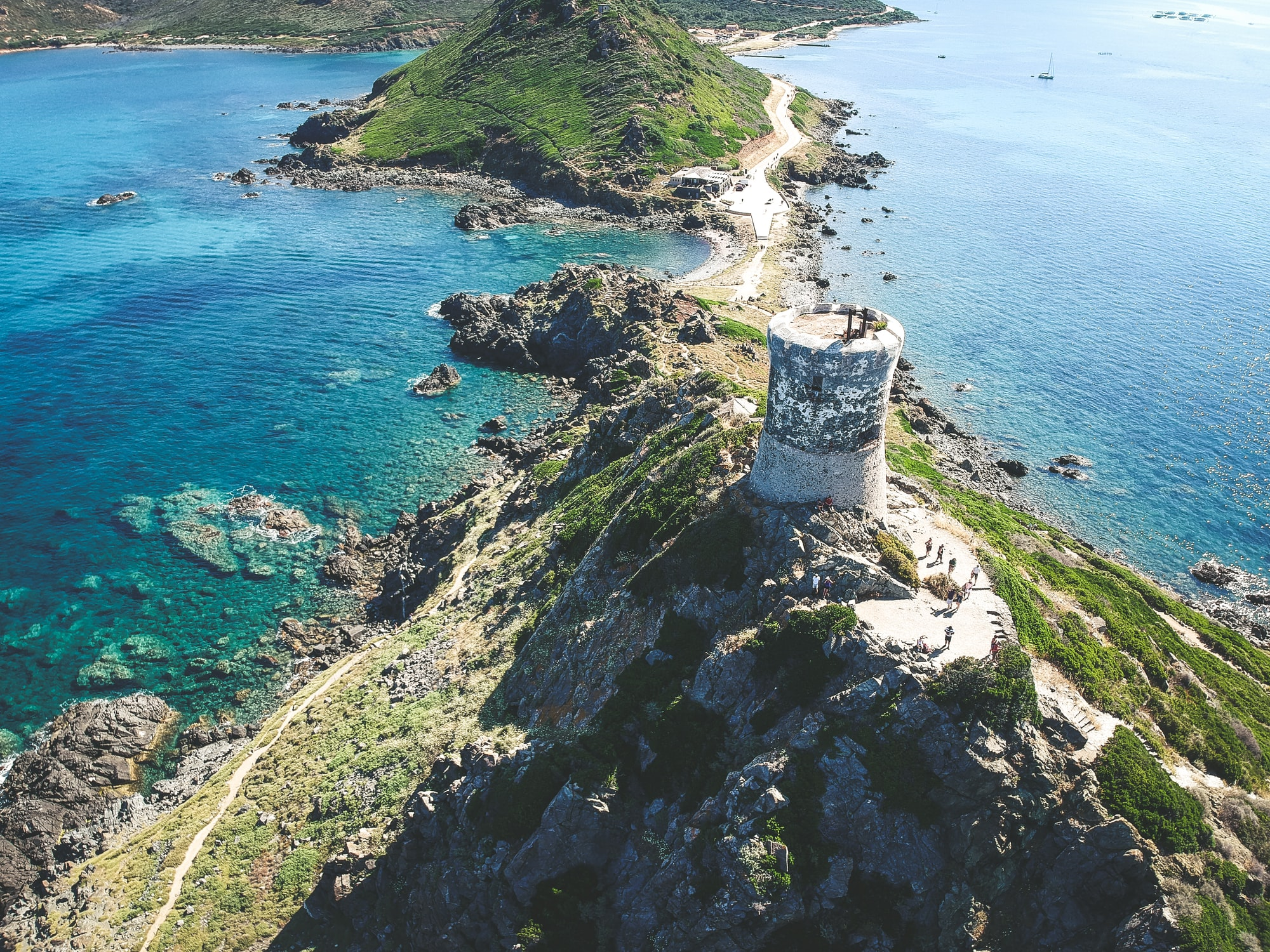 Pointe de Parata en Corse