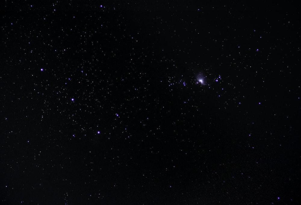 stars at night time