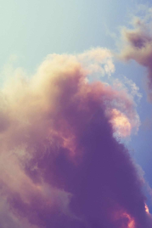 clouds under blue sky