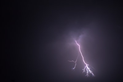 On my way back from work I had to stand for over an hour to capture the thunder strike.