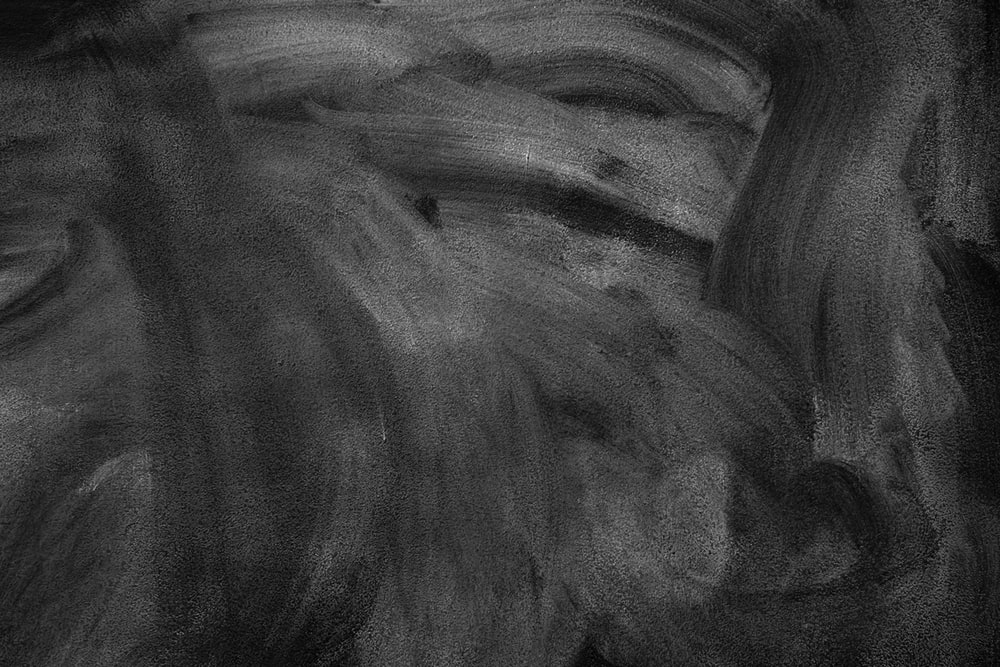 gray and black abstract painting