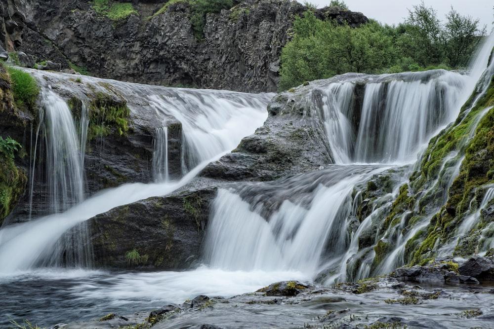water flowing stream
