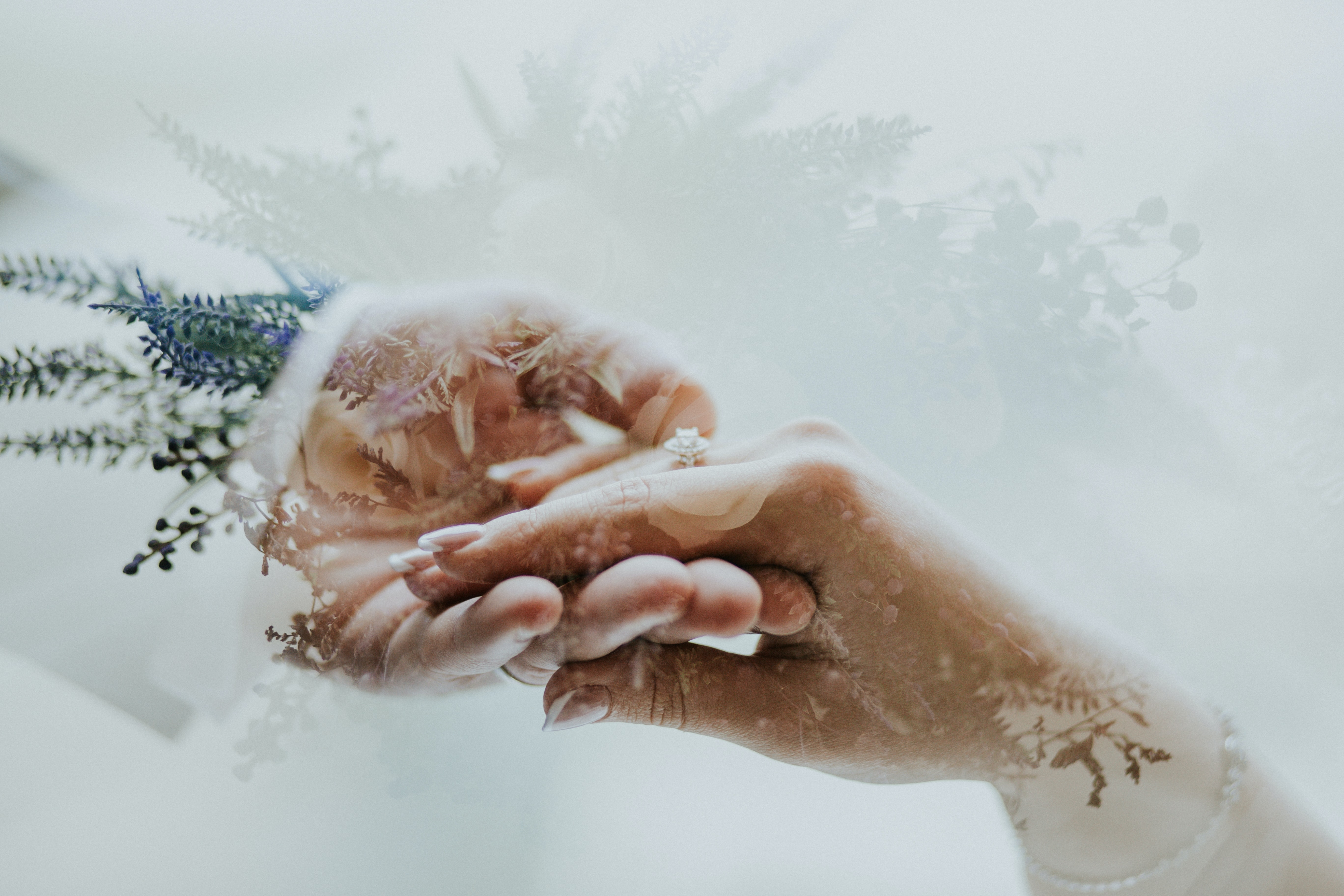 two hands holding each other isolated in white background illustration