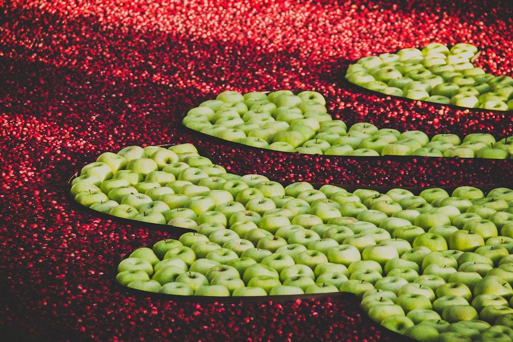 green apple lot during daytime