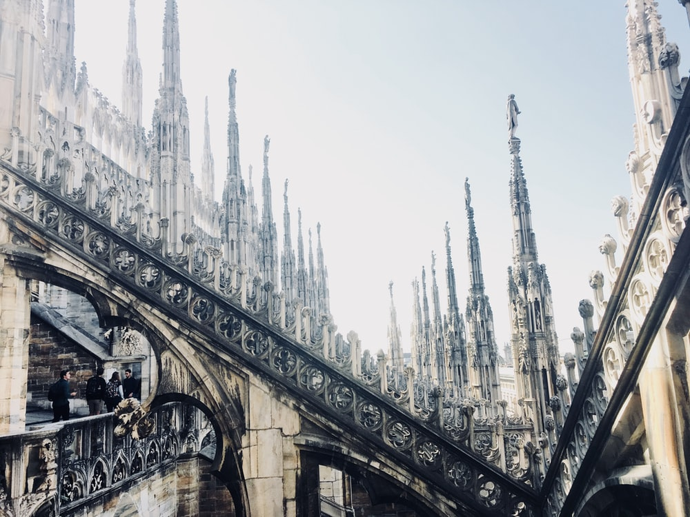 Milan Cathedral during daytime