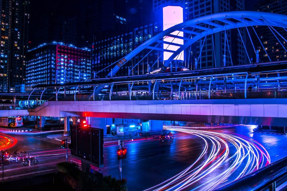 long exposure bridge