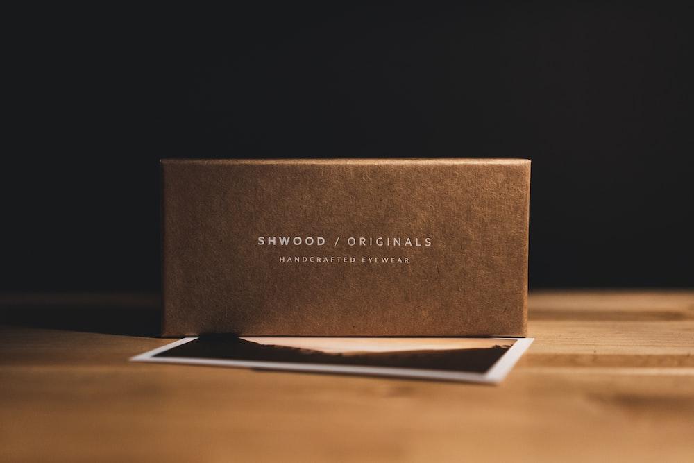 Shwood labeled box