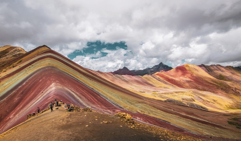 Coldest places in Peru by minimum mean temperature