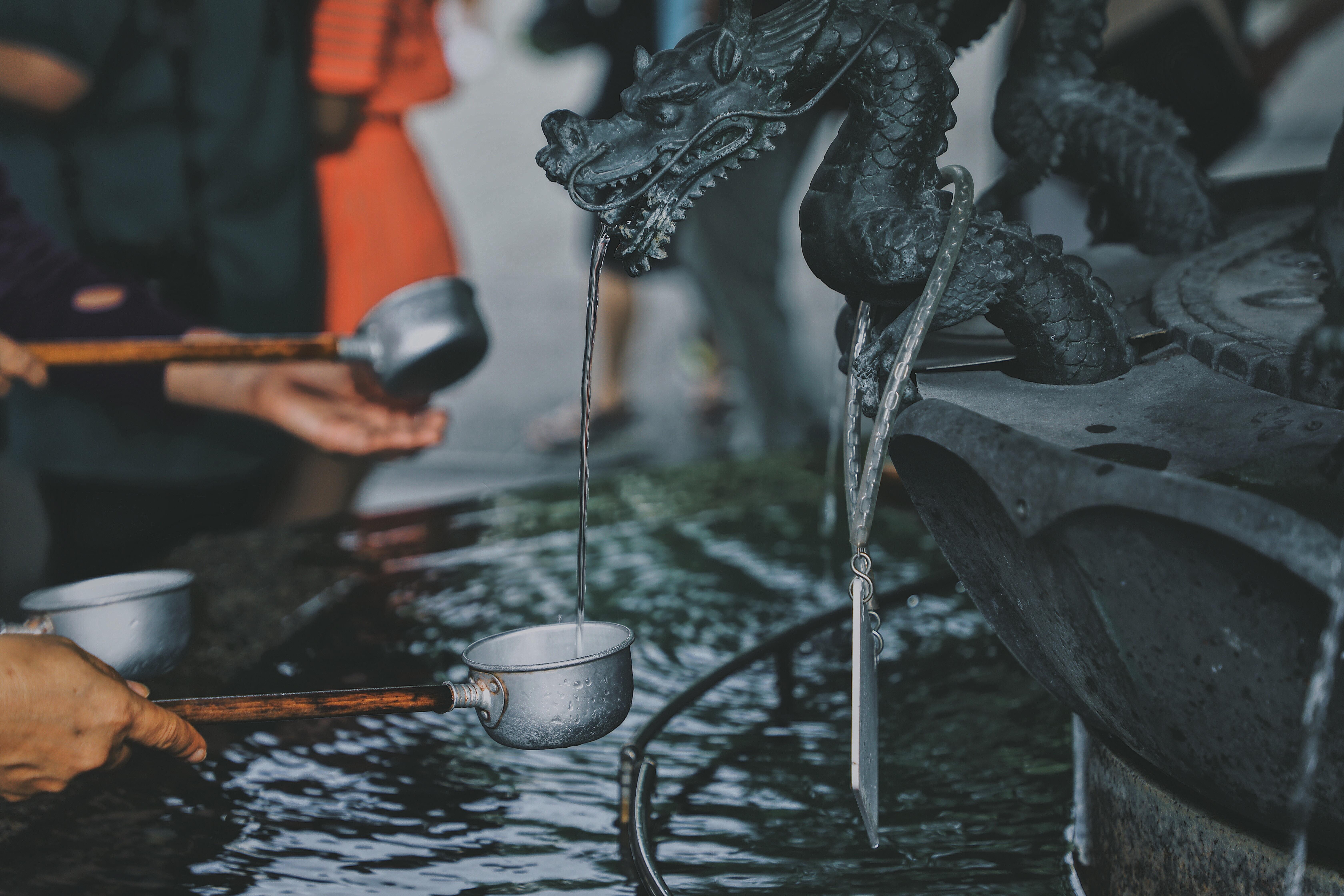 black dragon figurine
