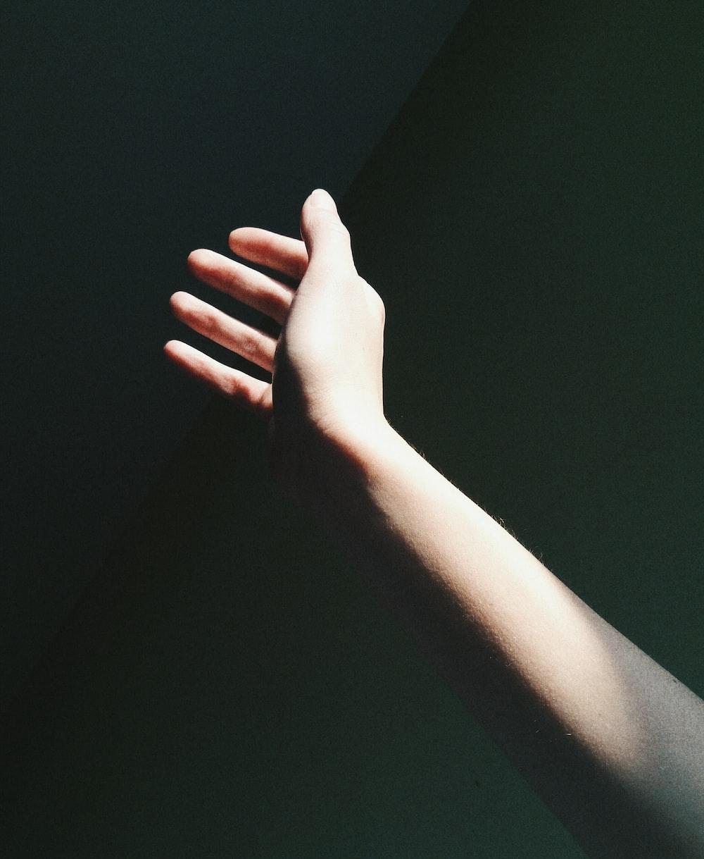 person right hand