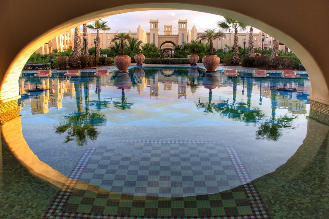 I stayed at the Rui Tourag Hotel on the island of Boa Vista, part of the Cape Verde islands, off the West coast of Africa. This was the main swimming pool.