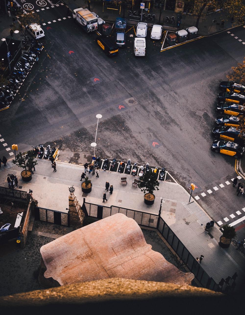 people walking on street at daytime