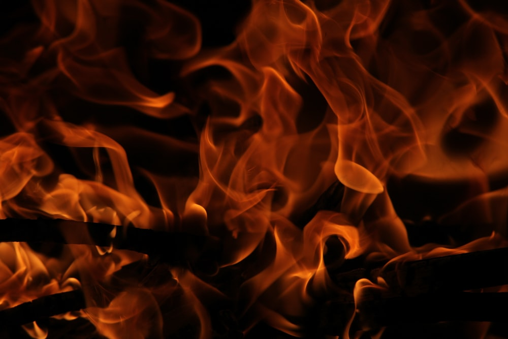 red fire wallpaper