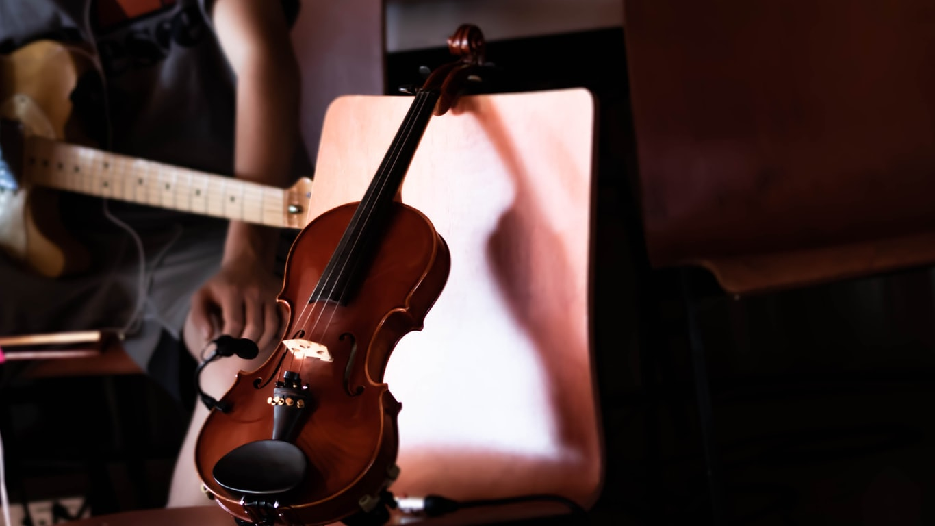 Learning to play the fiddle might be easier than you think...