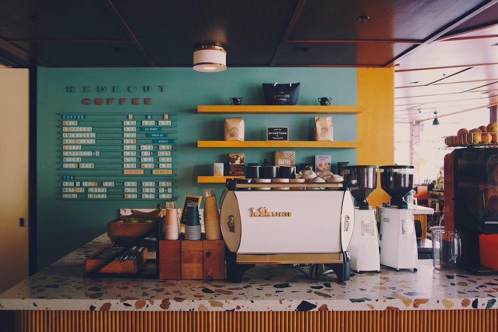 white coffee grinders