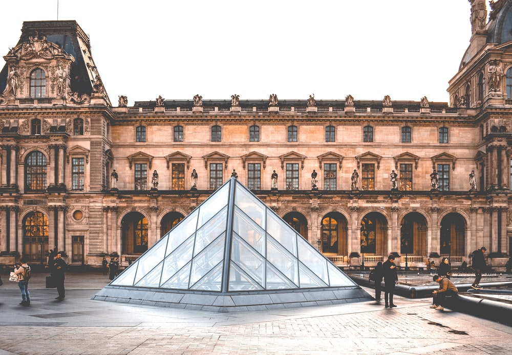 people in Louvre Museum in Paris during daytime