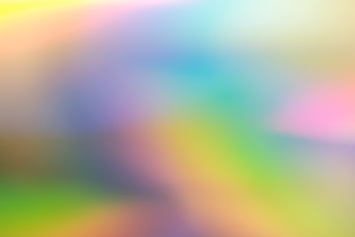 yellow and white abstract painting rainbow zoom background
