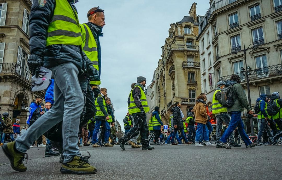 Act VI of yellow vest protest in Paris