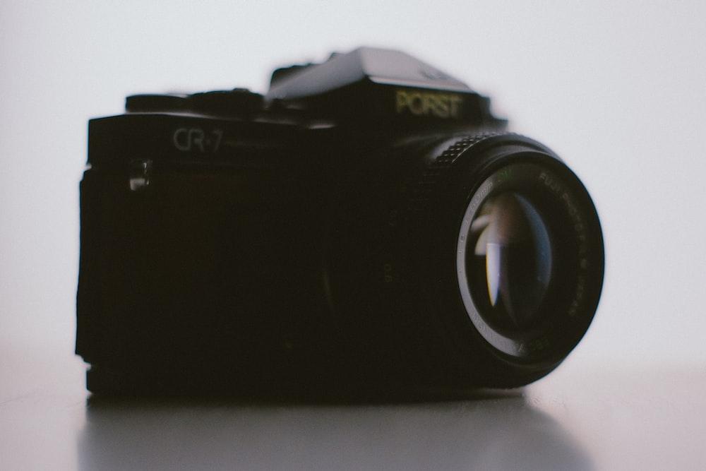 black Porst CR-7 camera