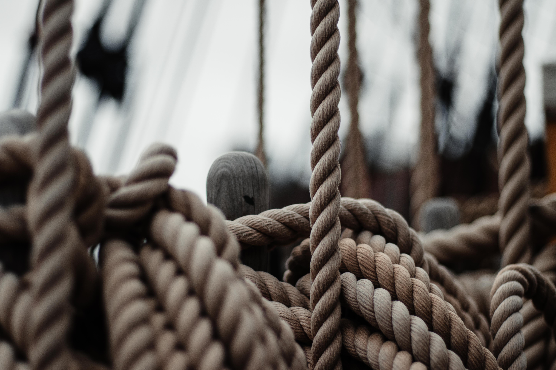 brown ropes