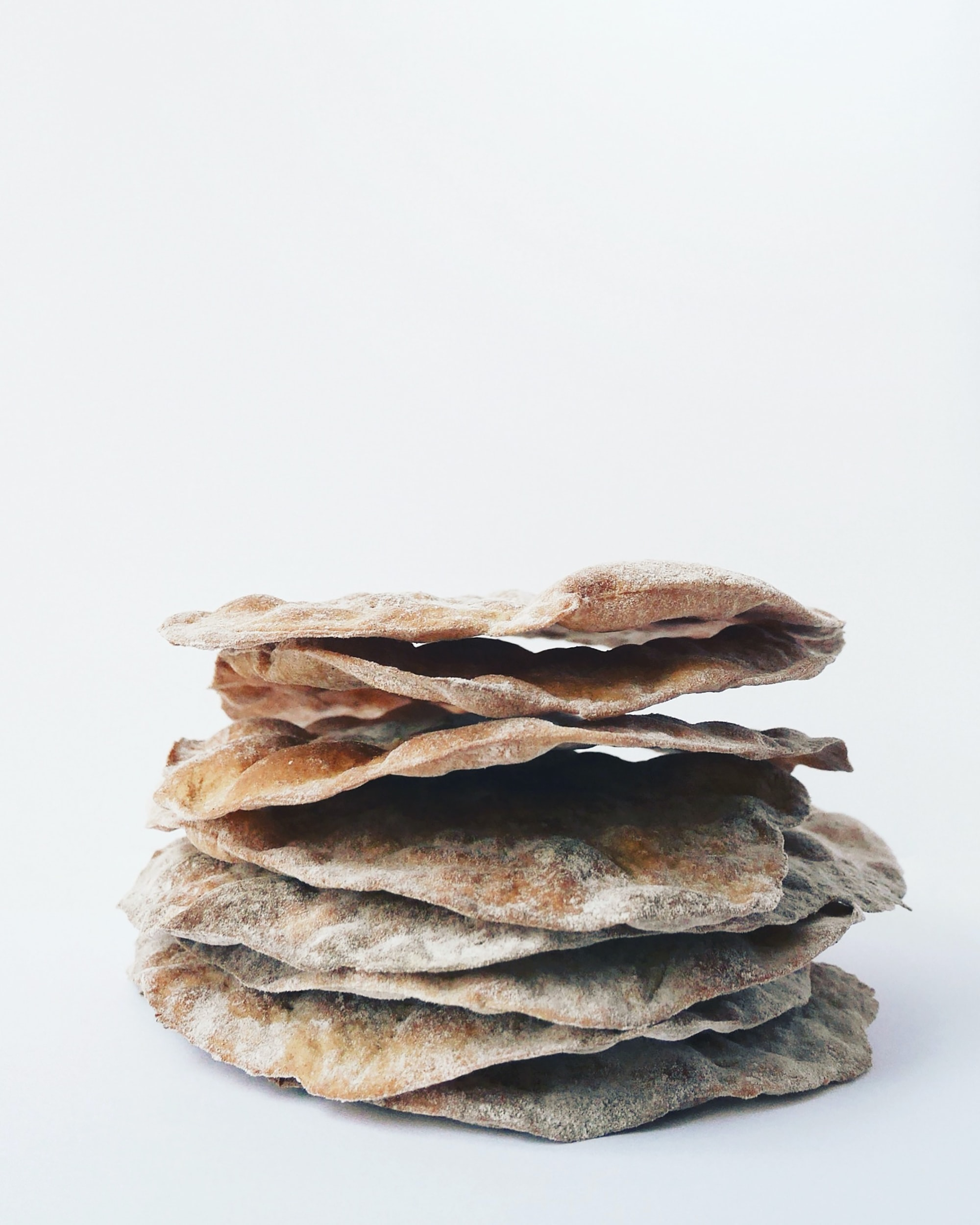 stack of flatbreads
