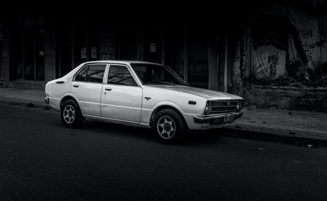 Vintage Toyota Corolla