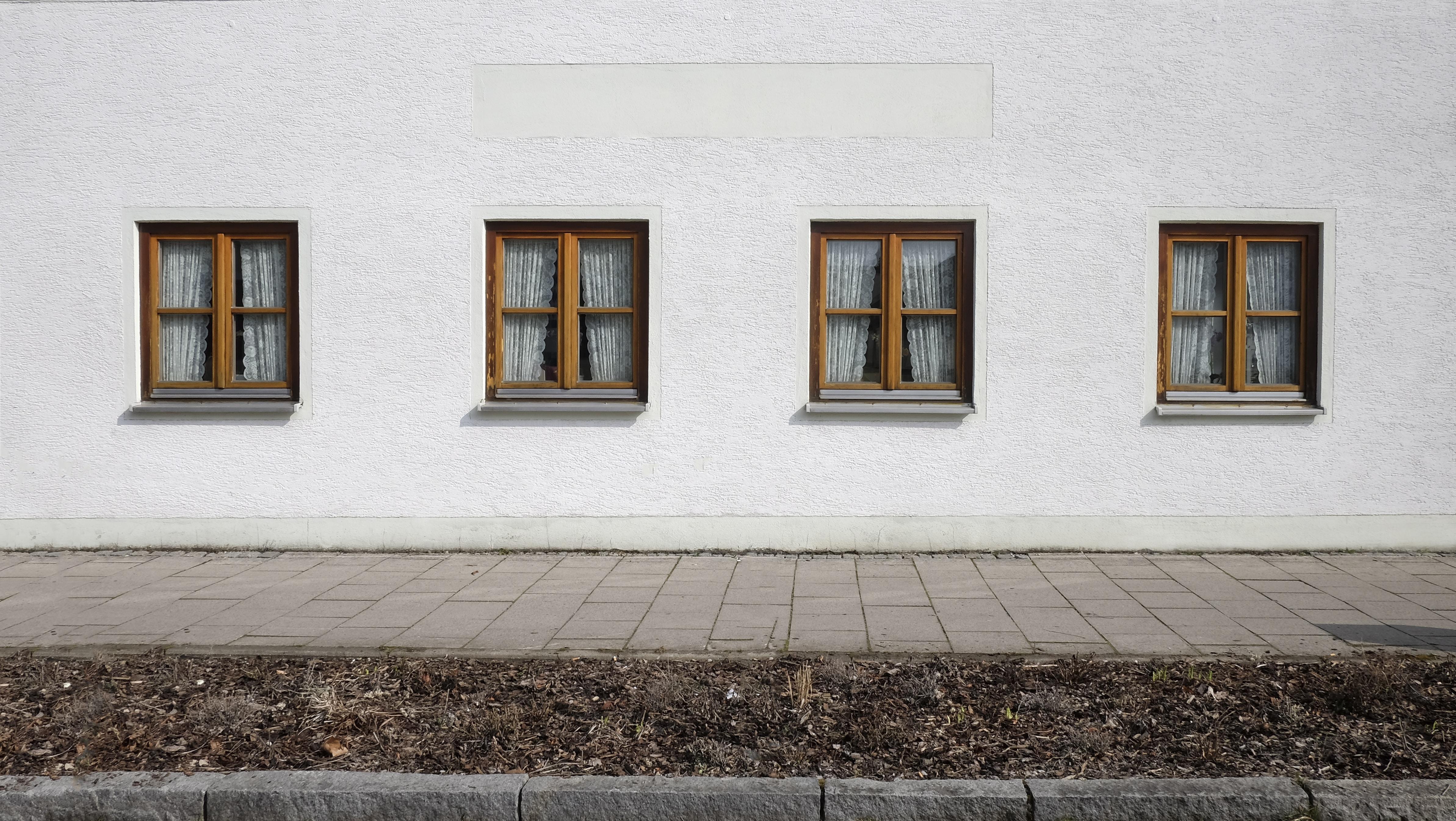 brown windows