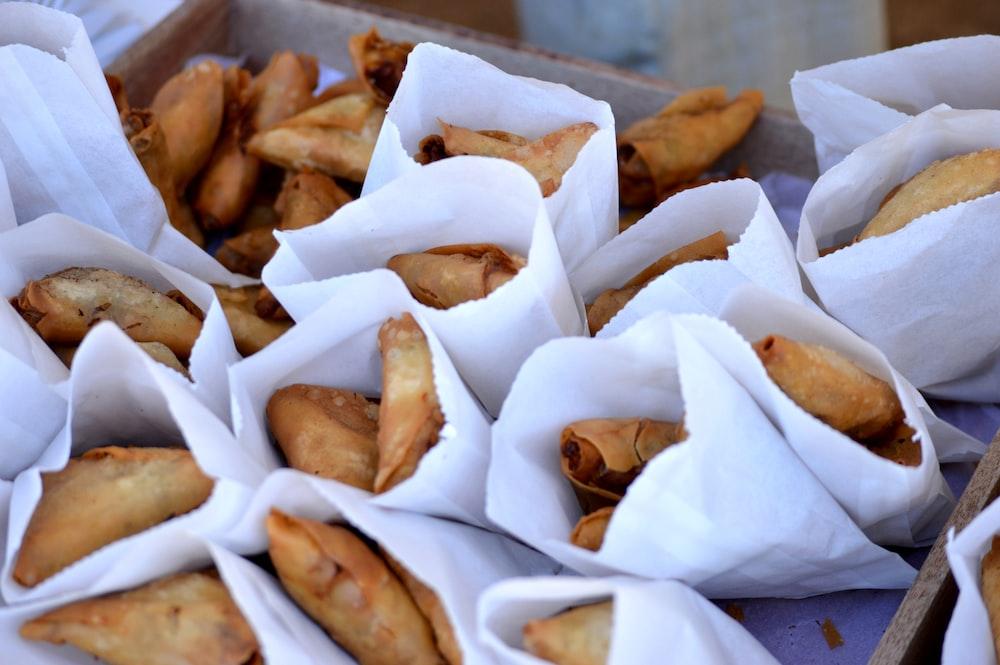 tray of fried \quesadillas