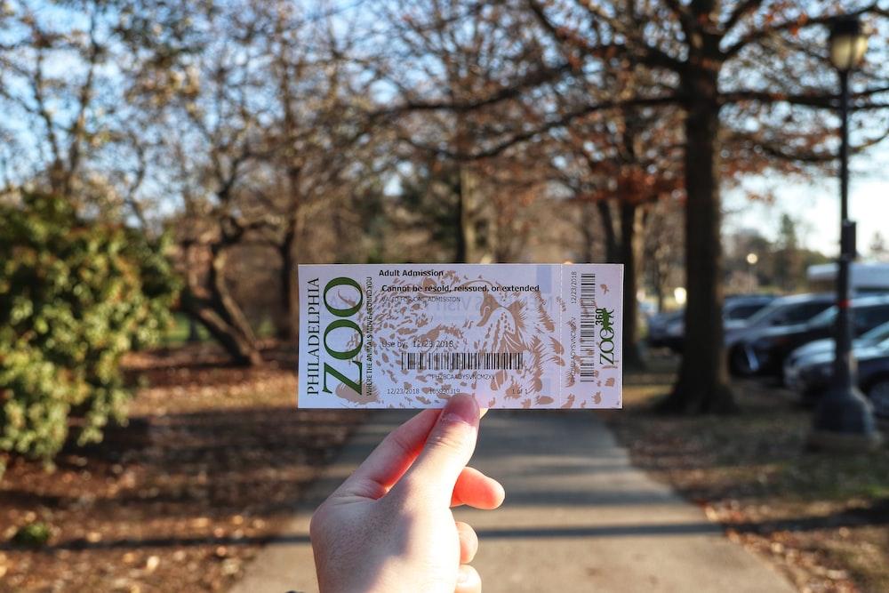 Philadelphia zoo ticket
