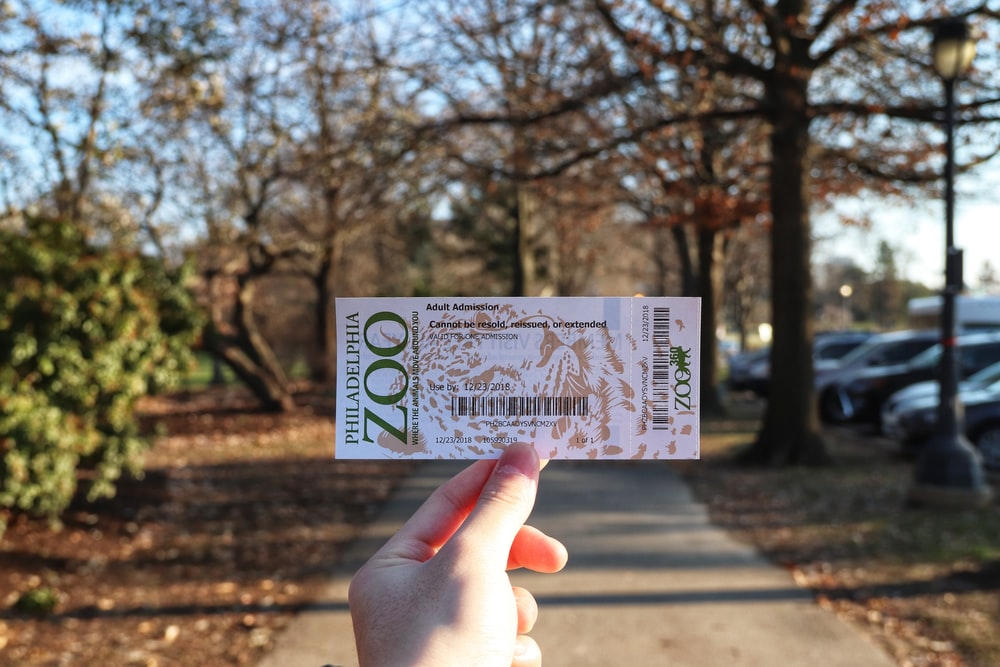 Philadelphia zoo ticket