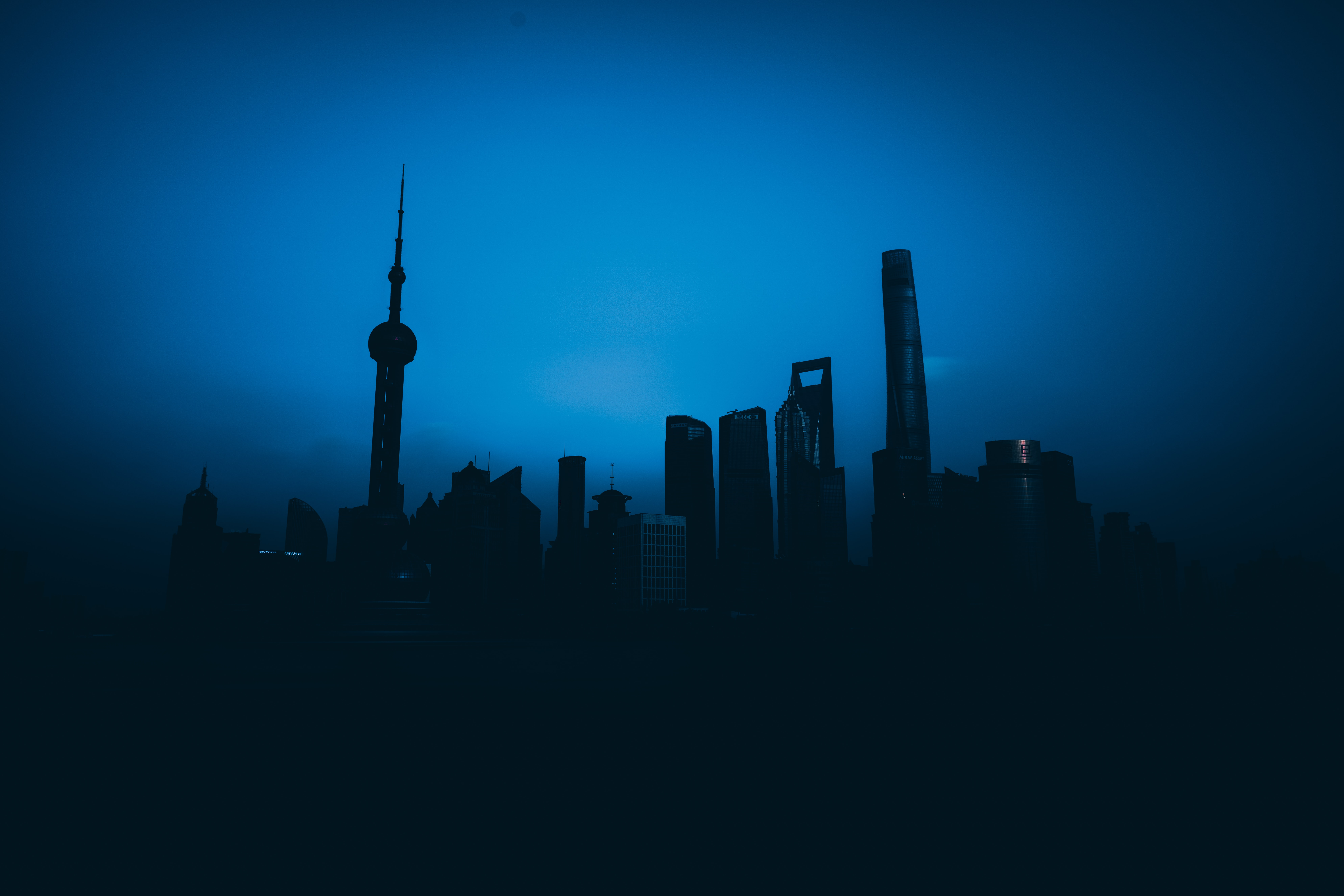 silhouette photography of city skyline