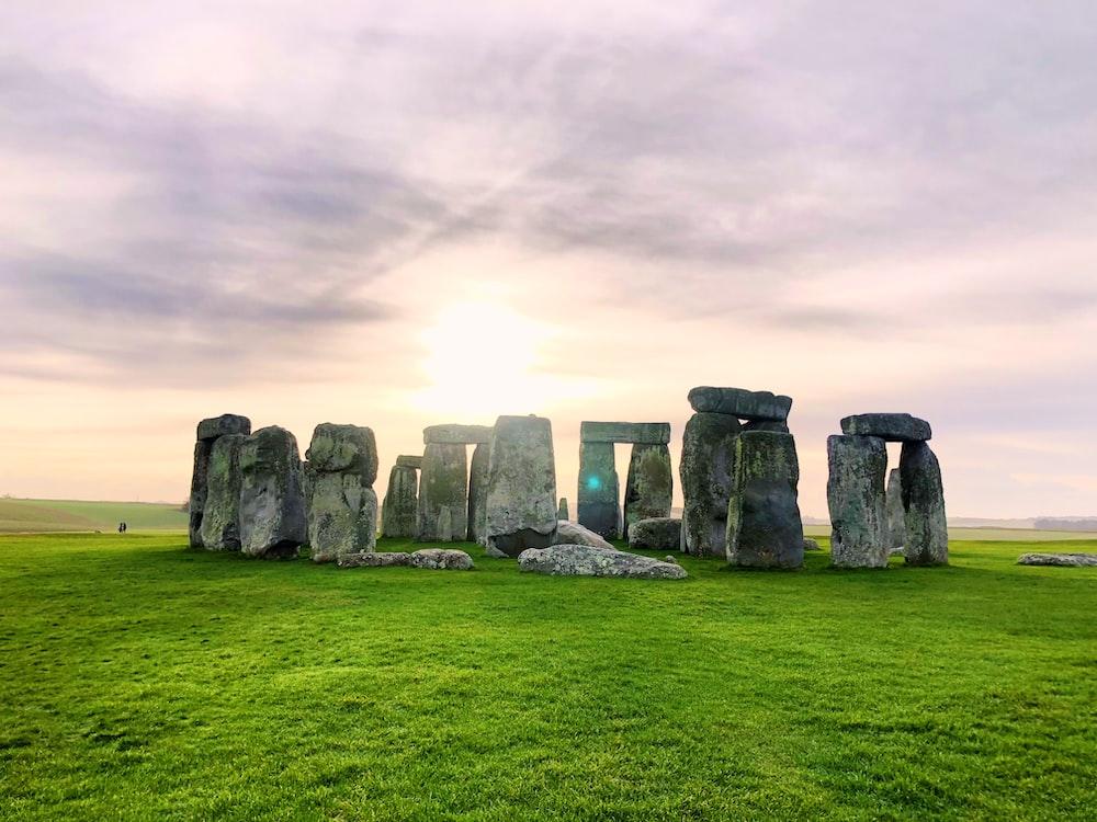 Stonehenge, England during day