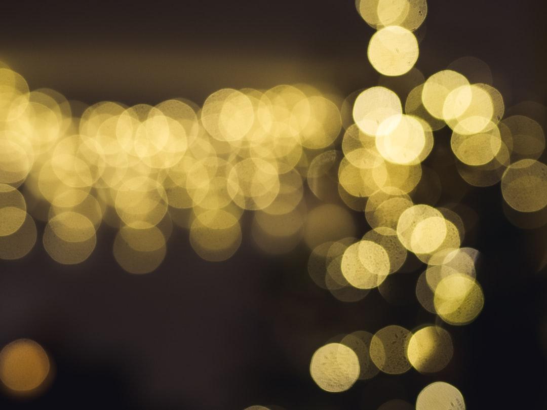 Blurry Christmas
