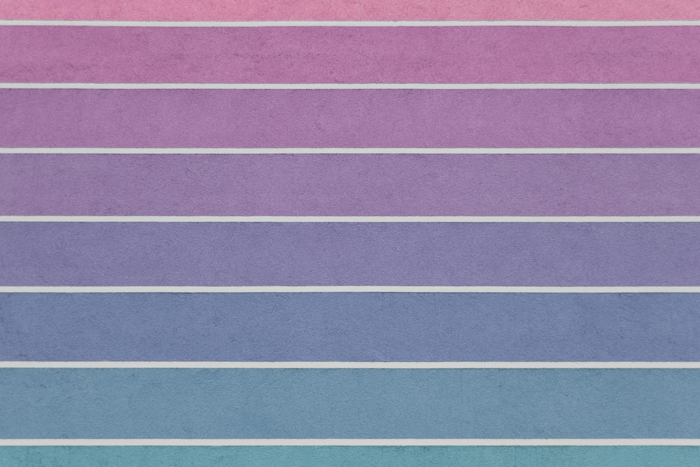 pink and blue striped illustration