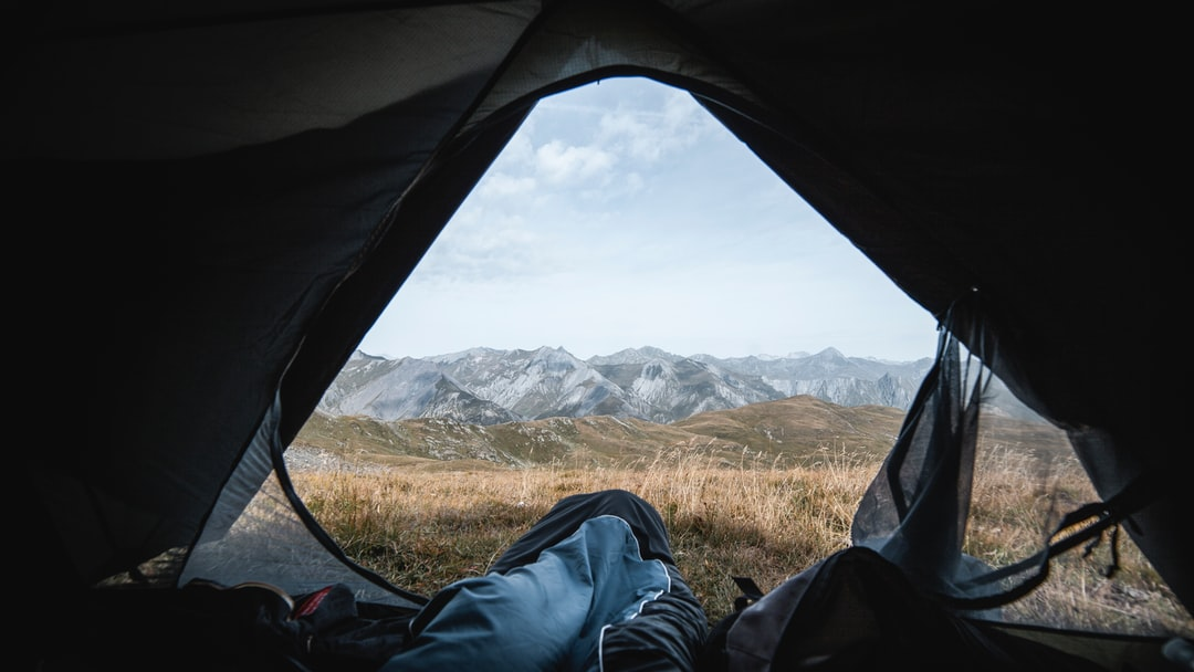 One morning on the mountains
