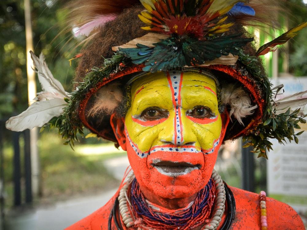 man wearing traditional dress
