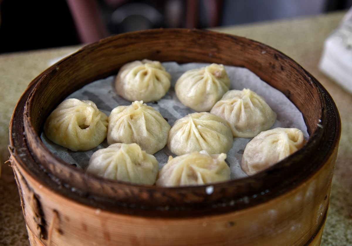 Dumplings are eaten to symbolize wealth and bringing in more wealth!