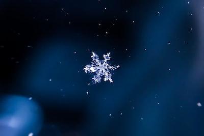snow flak illustration snowflake zoom background