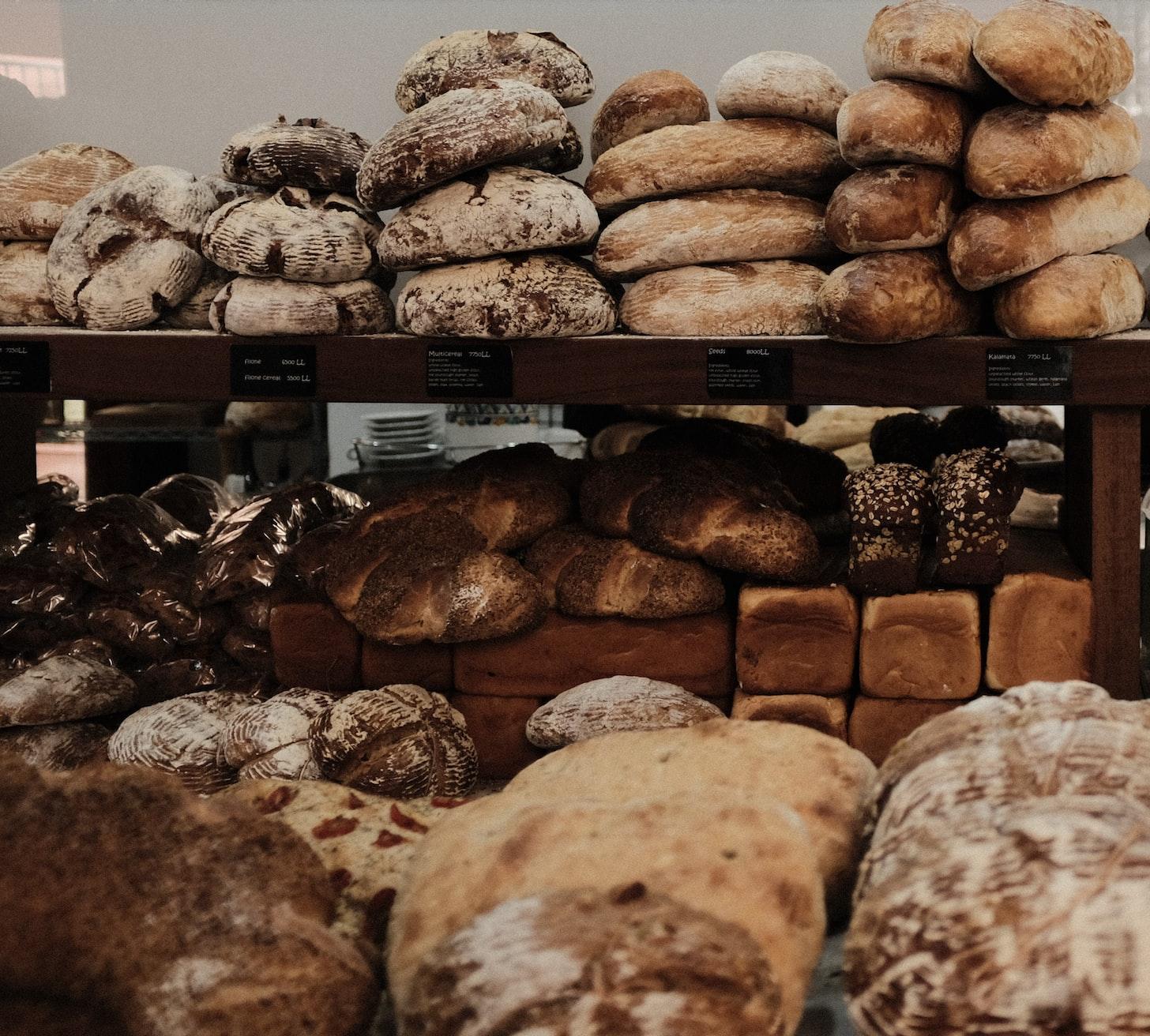 Alimentos que están hecho con gluten