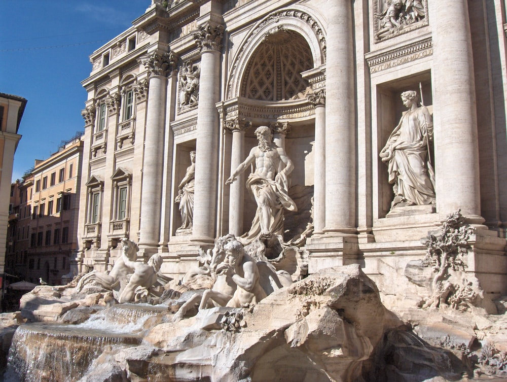 The Trevi Fountain, Italy