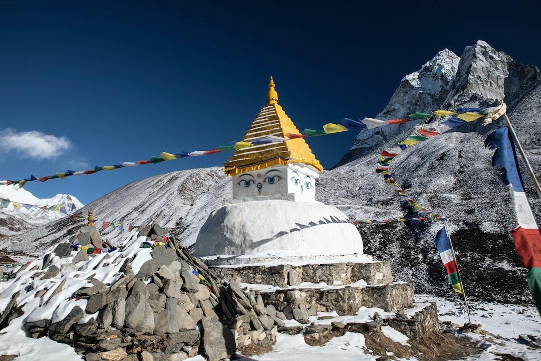 Winters morning in Dingboche, Everest region, Nepal www.littleleafcreative.com